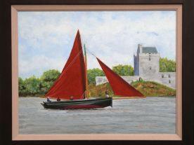 Boat at Kinvara